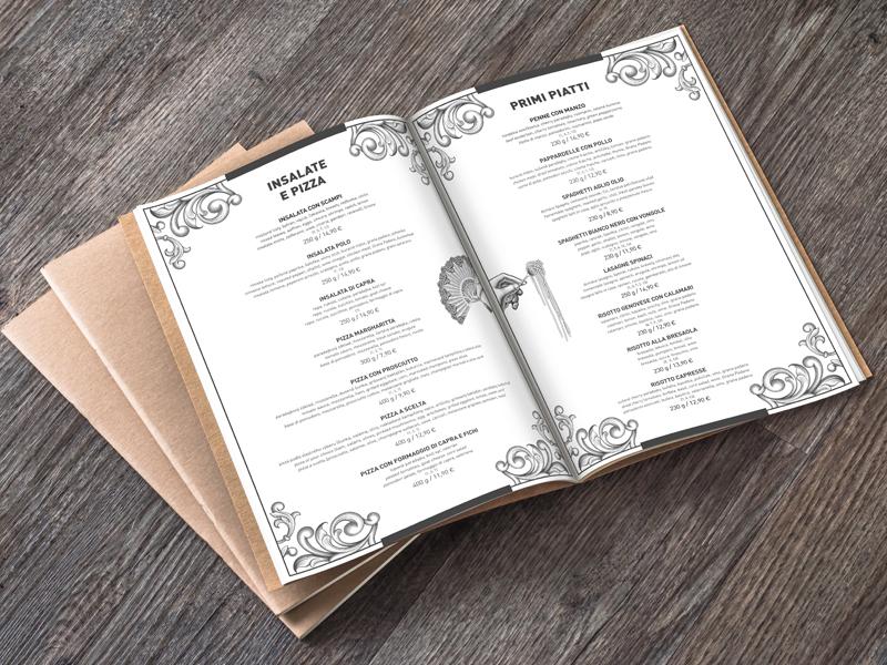 Aucafe menu