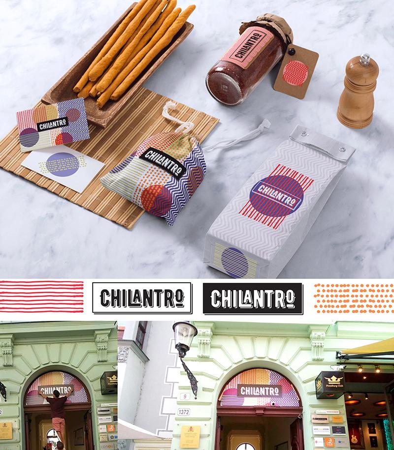 Chilantro branding