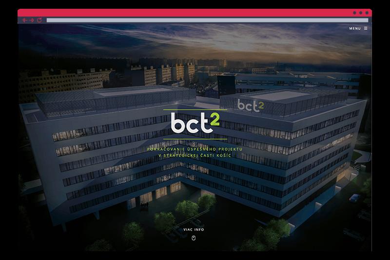 Projekt BCT2 - webstránka