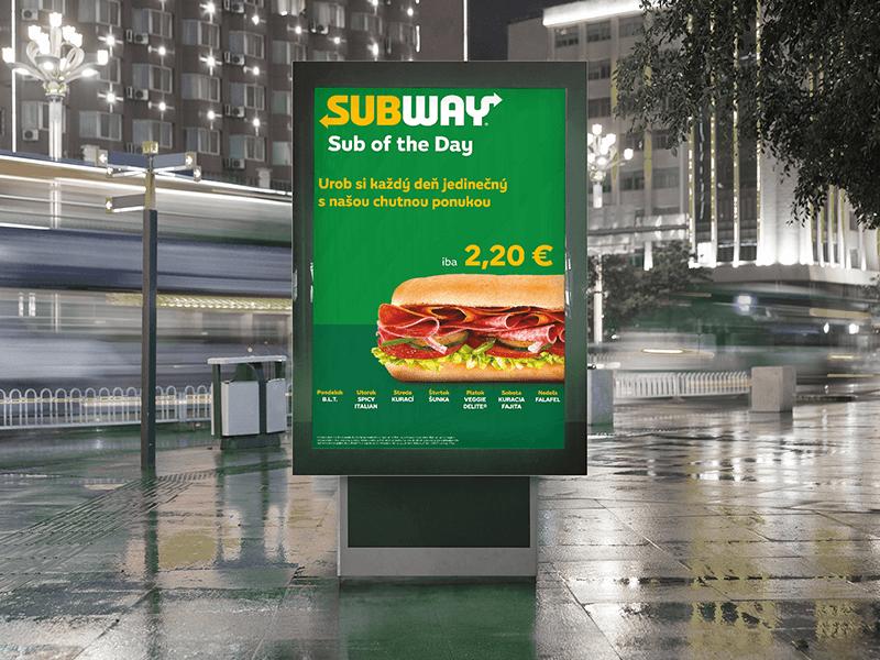 Subway SOTD - outdoor